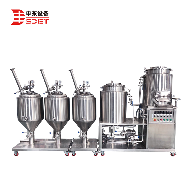 40l 100l Home Brewing System Mini Beer Brewing System