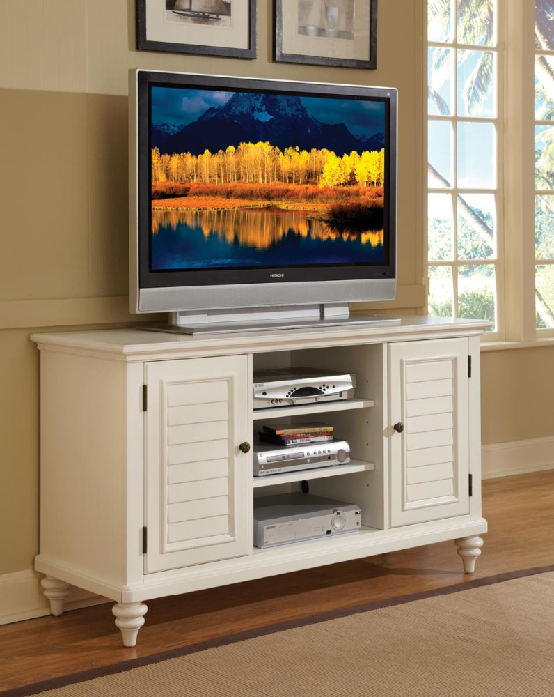 Tv Stand Entertainment Credenza Unit Hall Cabinet White Product On