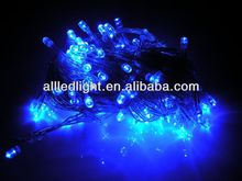 10M 100 LED Blue Lights Decorative Christmas Party Festival Twinkle String Lamp Bulb 220V EU