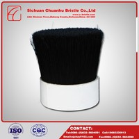 Top products hot selling new 2016 Black Interior Paint Brush ,Natural Pig Bristles