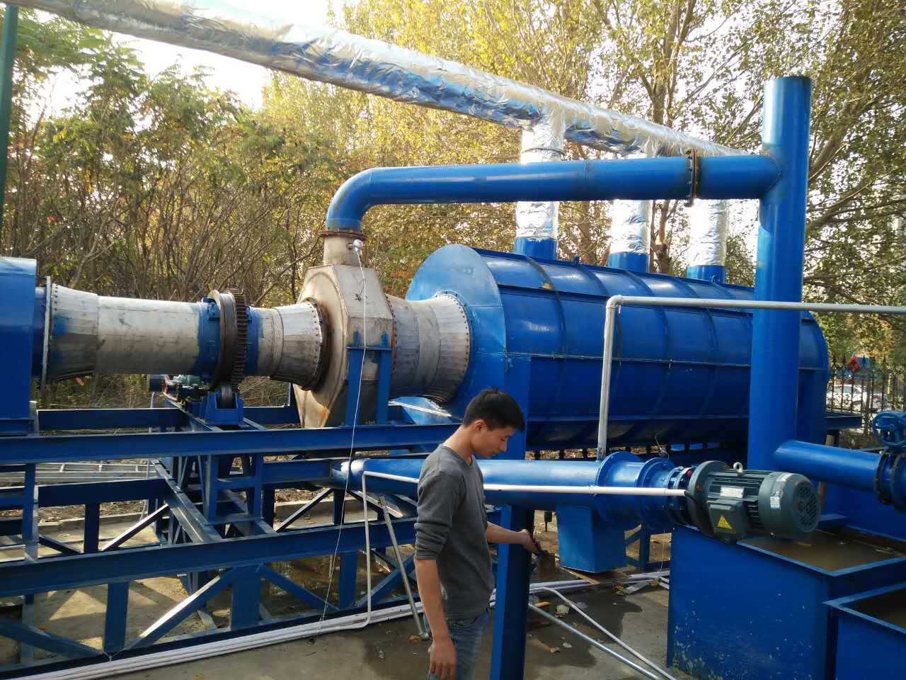 wood sawdust nanometer carbonization furnace