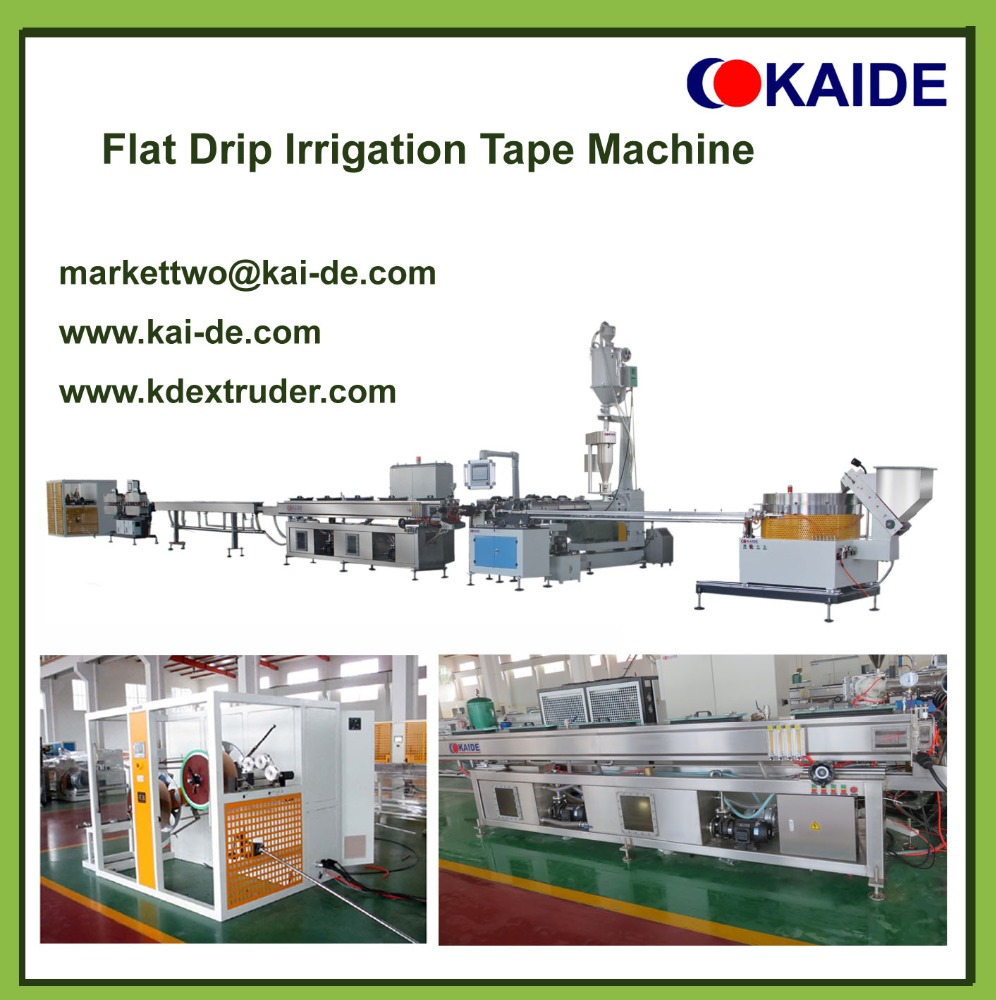 Irrigation Pipe Plant/drip tape machine/irrigation pipe extruders/drip machine
