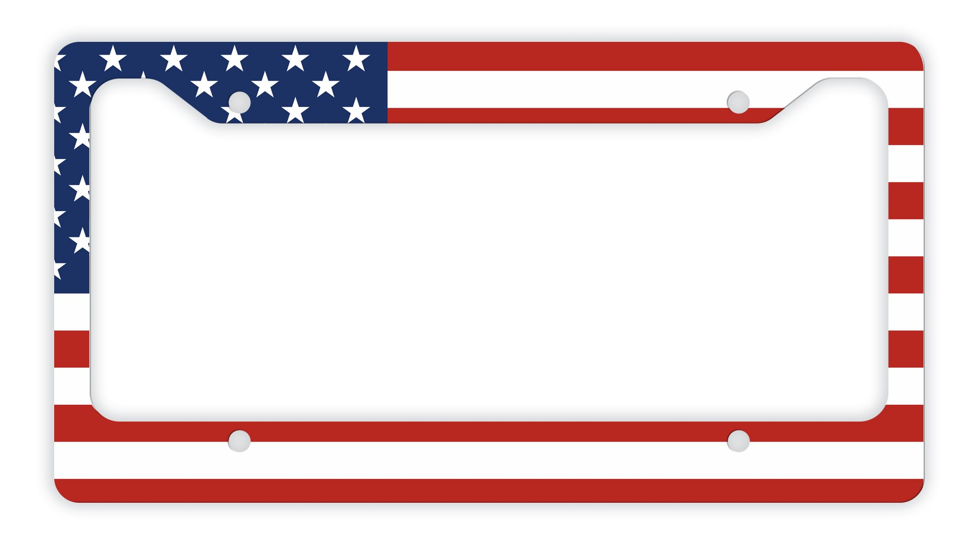 e15bdd996f1 Get Quotations · ThisWear USA License Plate American Patriotic USA Flag  License Plate Veteran Patriot Novelty License Plate Frame