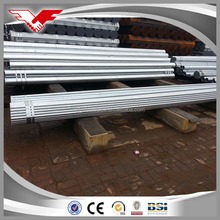 "low cost gi tube for scaffolding 2"" galvanized pipe with high quality"