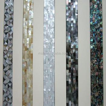 Perlmutt Shell Wand Mosaik Fliesen Inlay Buy Shell Fliesen