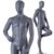 Cement clothes men business suit display used dummy model decorative abstract egg head adult male mannequins full size for sale
