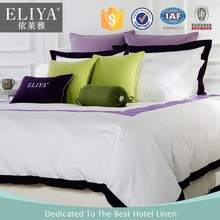 ELIYA hotel products 100 cotton knitted bedspread for hotel used