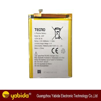 Factory direct sale battery TECNO BL-30RT 3000mAh, View tecno battery,  TECNO Product Details from Guangzhou Yabida Electronic Technology Co , Ltd   on
