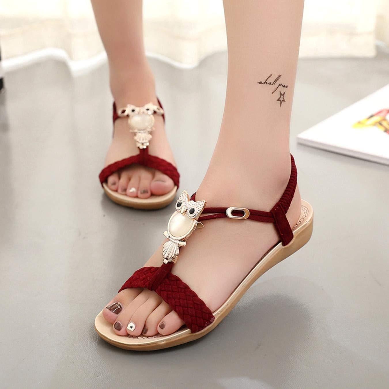 a439be781577 Get Quotations · Women Sandals Women shoes Flip Flops women39 s sandals  Summer Ankle-Strap Sandals