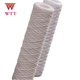 1 mictron Water Treatment PP cotton String Wound Filter Cartridge industrials for filtration