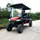 4 seater electric golf cart with MP3,big off- tire golf cart