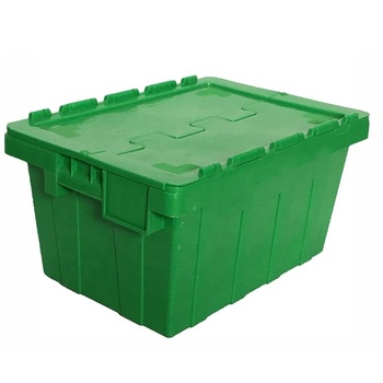 The Last Day Promotion  Stackable and Nestable Plastic Containers Storage Plastic Moving Box Container