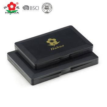 Office Fingerprint Stamp Pad Plastic Black Ink
