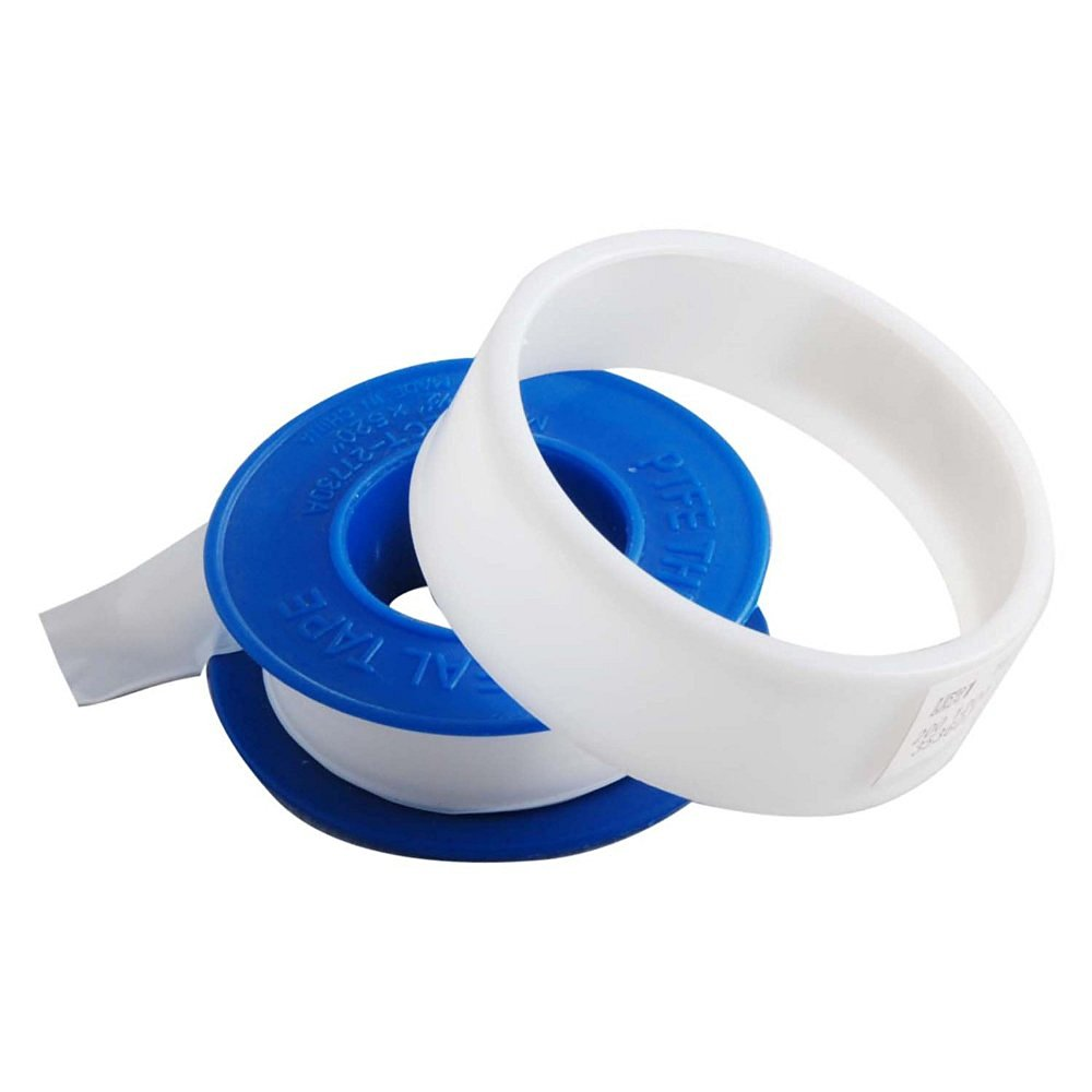 "6 Rolls 1/2"" x 260"" Teflon Plumbing Thread Seal Tape for Pipe Sealing Lot of 6"