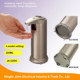 wholesale Amazon hot Fingerprint Resistant Stainless Steel touchless sensor liquid automatic soap dispenser in bathroom kitchen