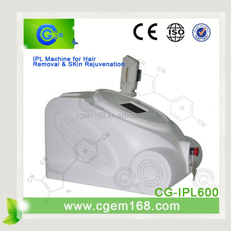 CG-IPL600 Super quality custom ipl vascular lesion removal for beauty like pigment removal, sun damaged skin on sales