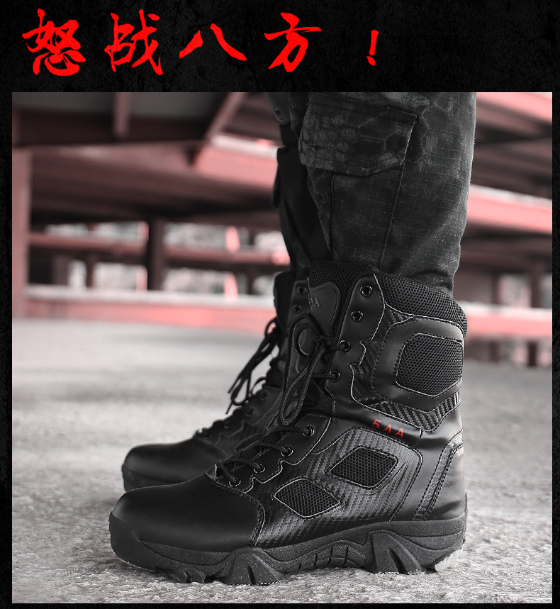 Hot new release Military boots Fashion Outdoor Winter Shoes For Men's Snow Boots