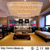 Crystal led ceiling light,600x600 led ceiling light,fancy ceiling fan light