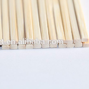 Square bamboo skewer 50cm candy floss sticks for BBQ