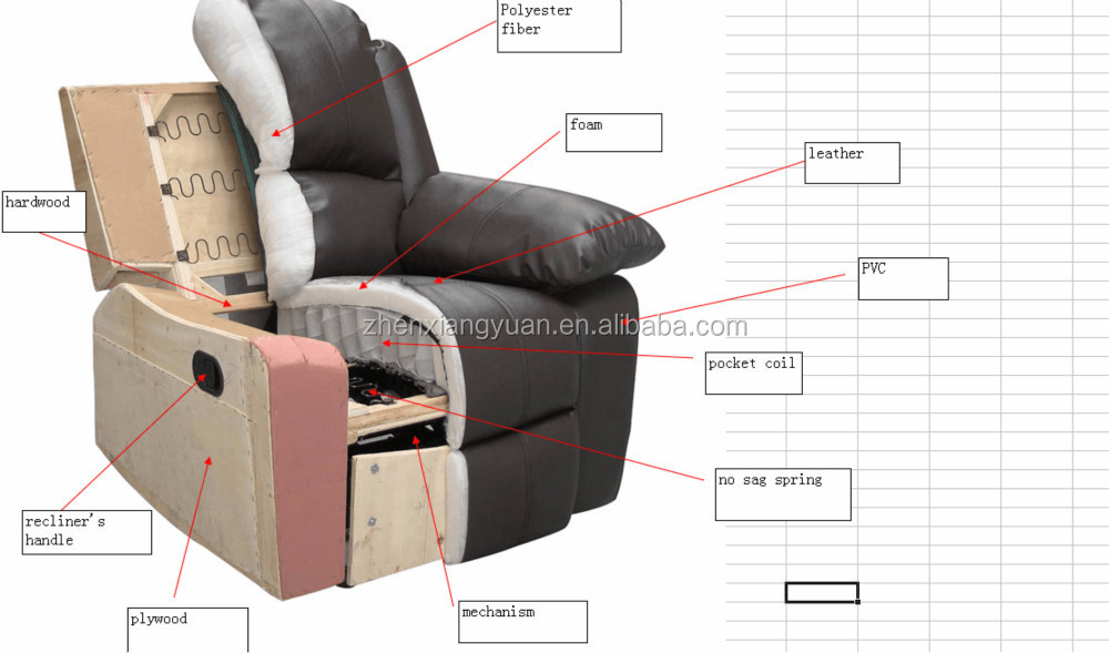 Modern Home Theater Sofa Electric Recliner Sofa Home