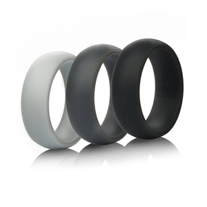 Silicone Wedding Ring (Wedding Band) - 8.7mm Wide (2mm Thick)