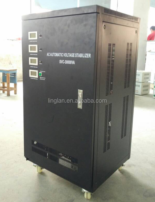 svc 30000va ac automatic voltage regulator