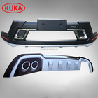 Front & Rear Bumper Guard for Jeep Compass 2017 Car 4x4 Accessories