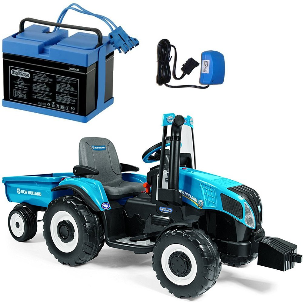 Cheap Leyland Tractor Spare Parts Find John Deere D130 Belt Diagram Auto Cars Price And Release Get Quotations Peg Perego New Holland T8 Trailer Blue With 12 Volt Battery Charger