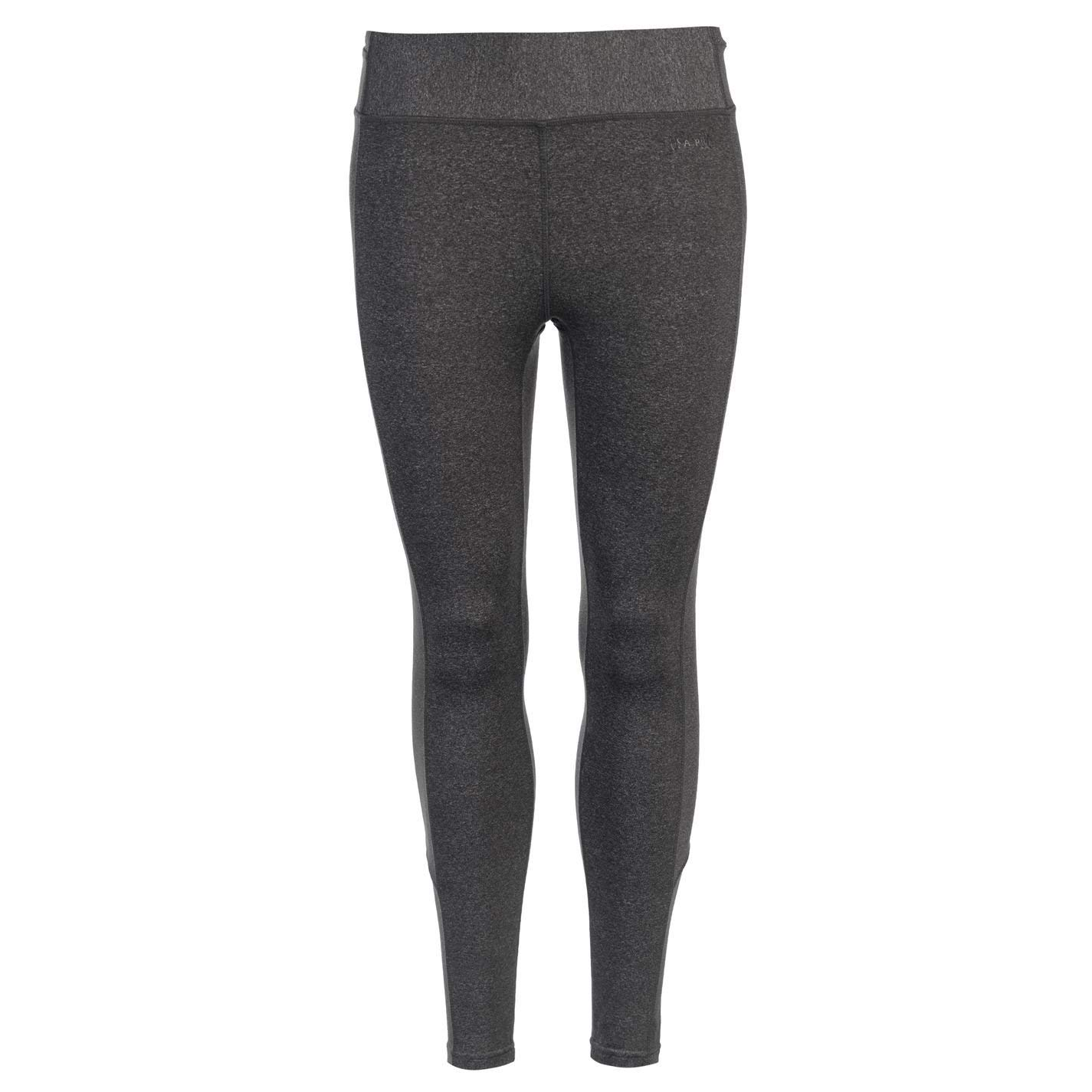 Get Quotations · USA Pro Womens Ladies Training Tights Pants Bottoms  Running Workout Clothing Charcoal Marl 10 (S 02a04c5144