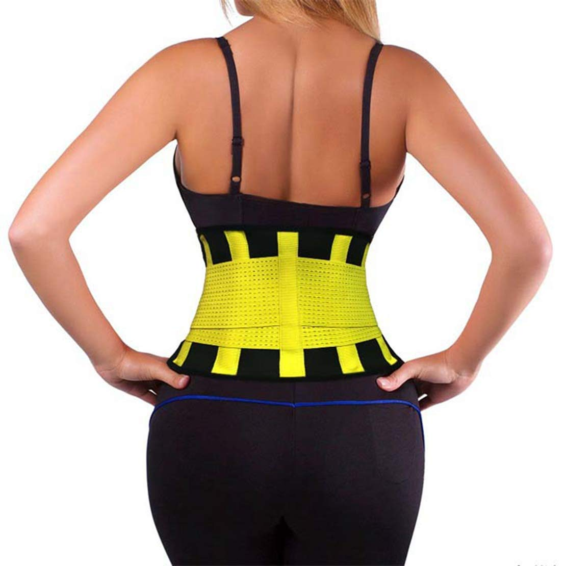 373b30eef8 Get Quotations · Women's Colorful Sport Posture Corrector Back Support Belt  Lumbar Spine Pain Lumbar Traction Belt Lower Back