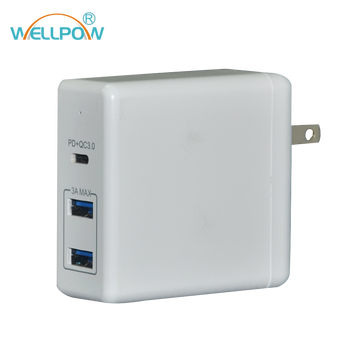 241c649976a Calidad Original 61 W Usb-c adaptador de cargador de energía para Apple  MacBook Pro