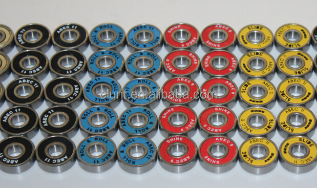 Good quality smooth spin skateboard ball bearing
