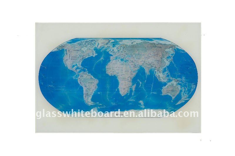 Portable Glass Photo Frame for Map