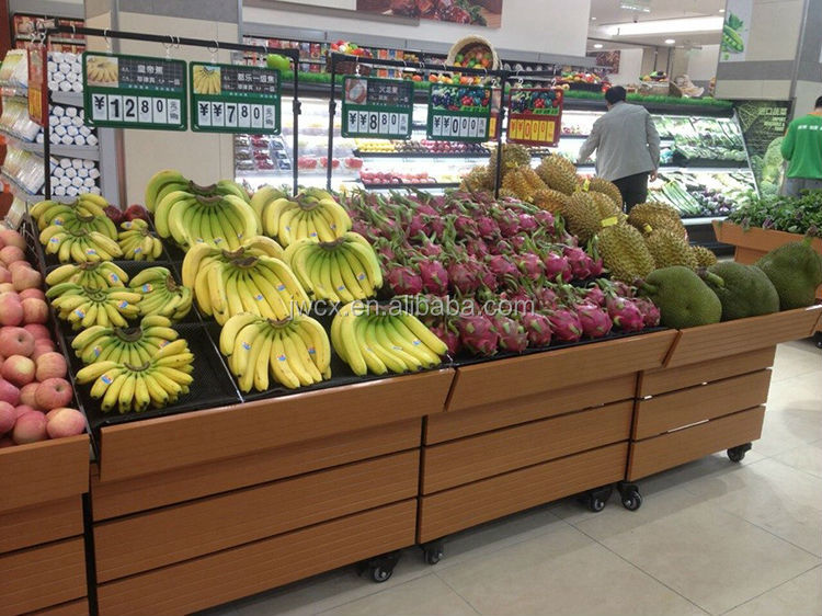 fruit vegetable stands displays