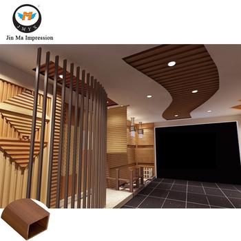 Madera Plstico Compuesto Wpc Moderna Casa Decorativa Material De