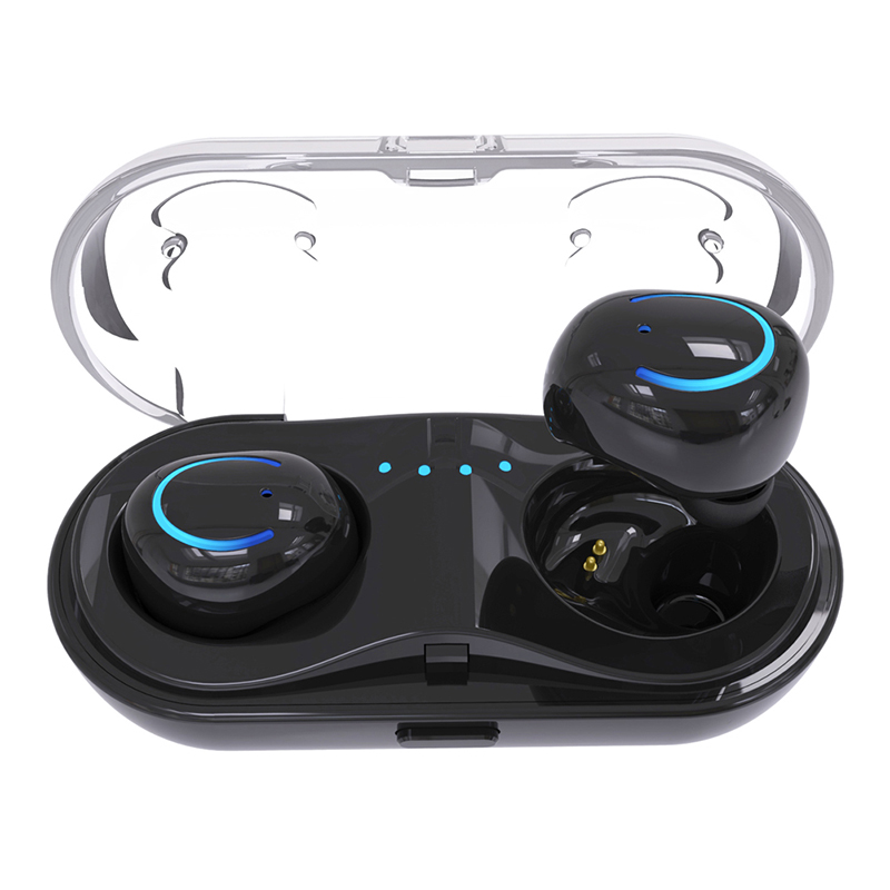 Mini wireless earbuds stereo noise cancelling bt earphone headphone
