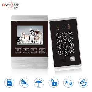 Bcomtech Analog System for Villa 2 Wired Video Intercom