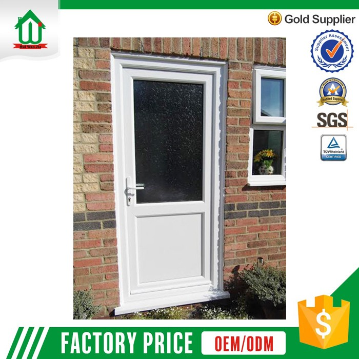 Safety exterior upvc used commercial doors