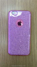 2017 Dual Layer Shimmering Flitter Bling Soft Silicone Cell Phone Case for J1/J2, Crystal Soft Gel Glitter case for S7 & S7Plus