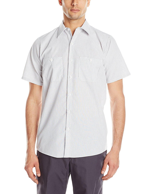 f7ddd3b57a Get Quotations · Red Kap Men s Micro Check Uniform Shirt