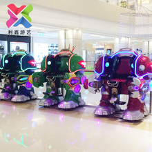 lixin new amusement game kiddie rides robot children walking robot for sale