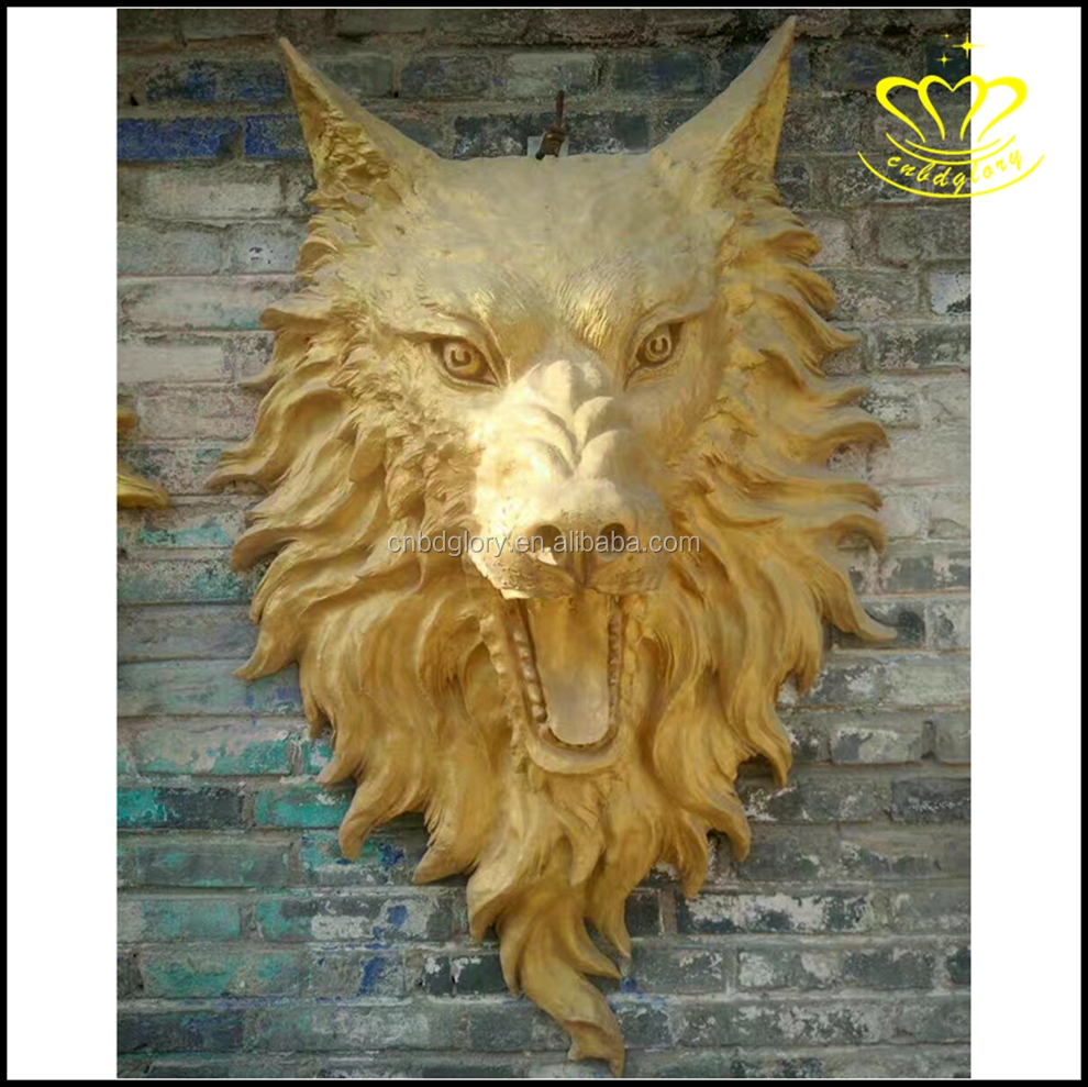 Resin Wolf Head, Resin Wolf Head Suppliers and Manufacturers at ...