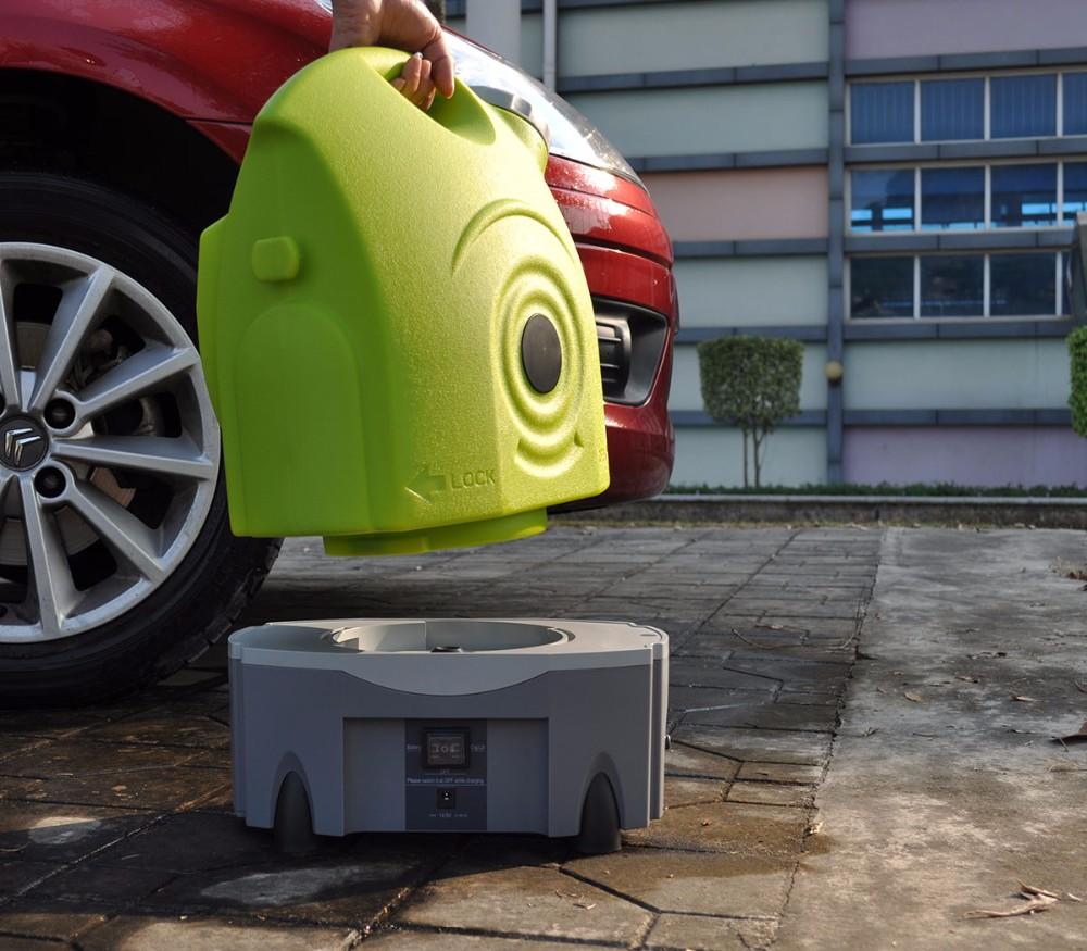wiederaufladbare tragbare hochdruckreiniger 17l wassertank räder und