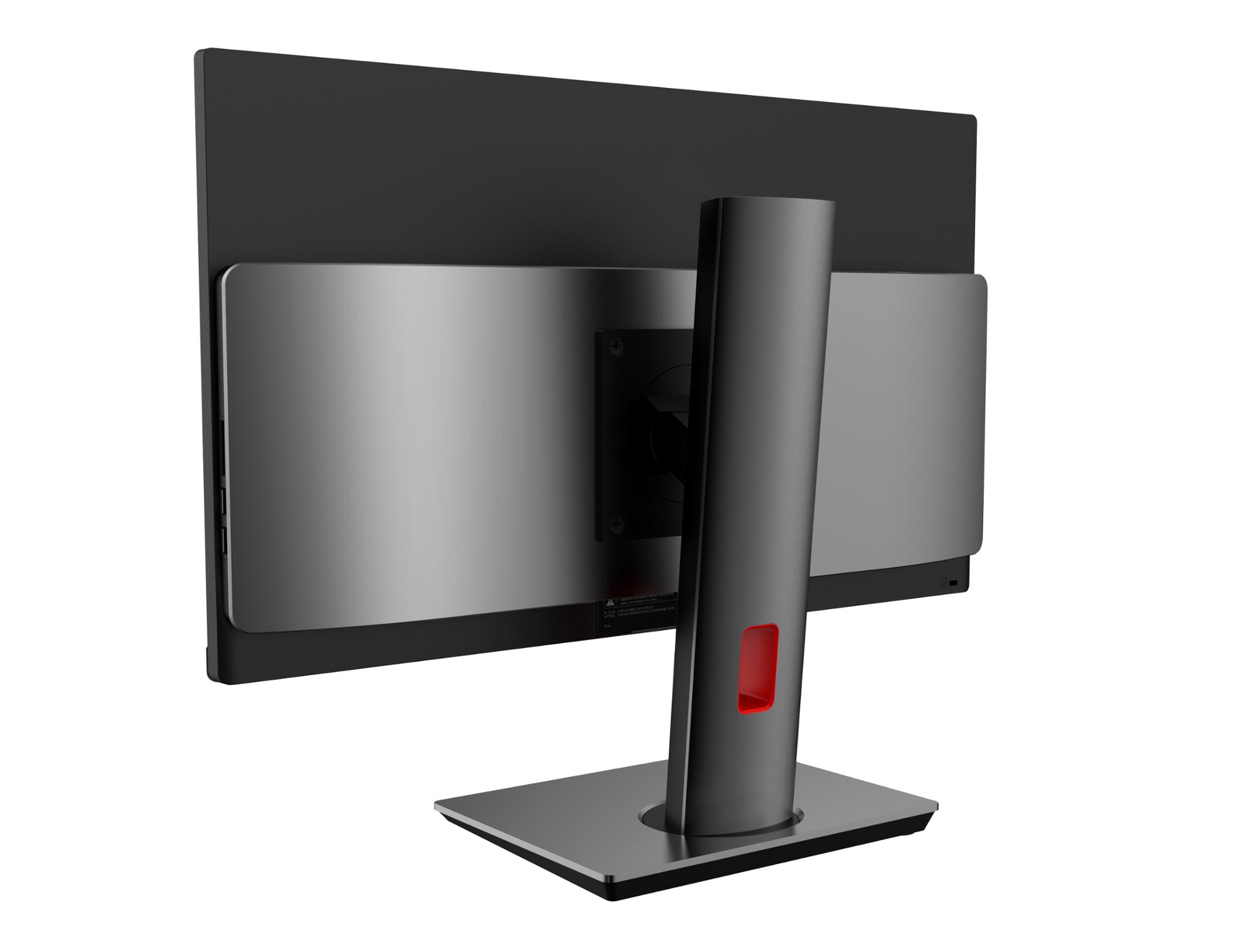 24 inch monoblock in a set with a stand of desktop execution the use of specialized monoblock bracket for mounting the system