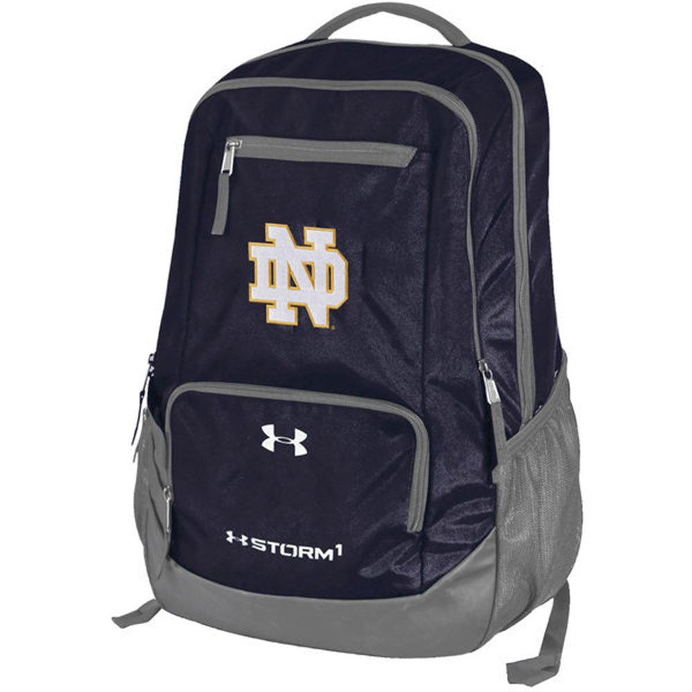 b53fb79556e7 Get Quotations · Notre Dame Fighting Irish Under Armour Hustle Backpack