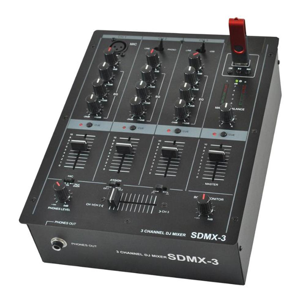 Professional Mini Portable Dj Console Usb Dj Mixer Sdmx-3 - Buy Usb Dj  Mixer,Dj Music Mixer,Dj Mp3 Mixer Product on Alibaba com
