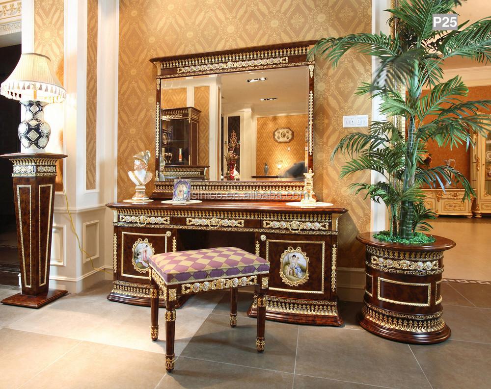 Franse barok kingsize bed verguld messing gemonteerd/porselein ...