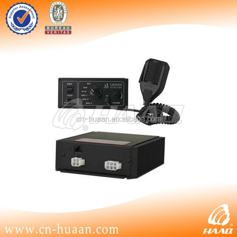 long distance waning siren vehicle warning equipment 12v siren 300w siren