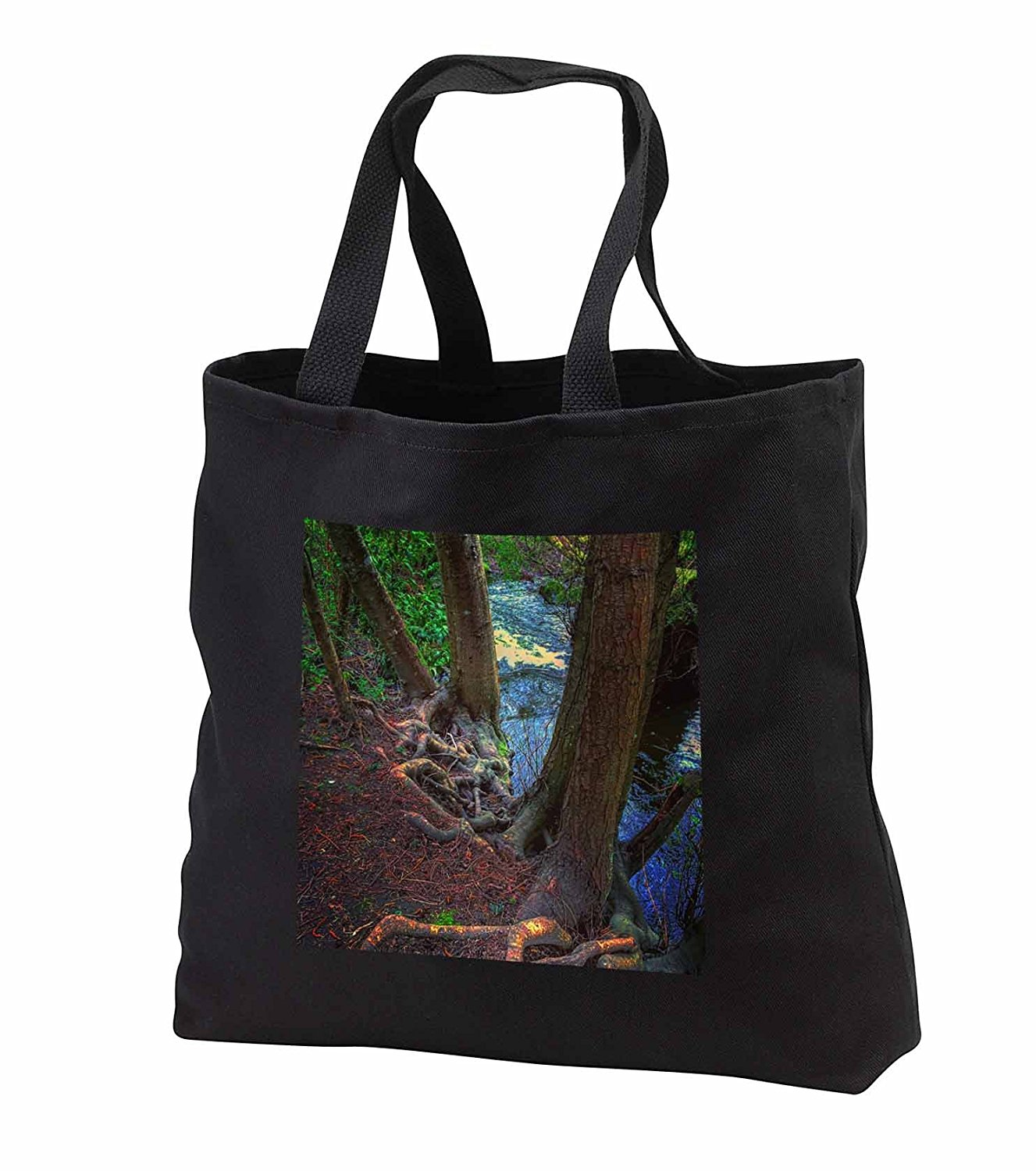 tb_245690 DYLAN SEIBOLD - PHOTOGRAPHY - TREE ROOT RIVER - Tote Bags