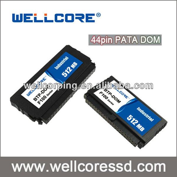 Industrial 44PIN 512MB IDE Flash PATA MLC SSD DOM Disk ON Module For Network PC